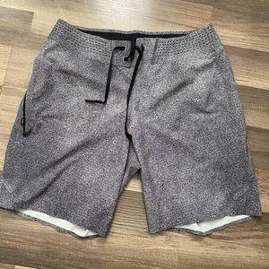Lululemon gray men's shorts
